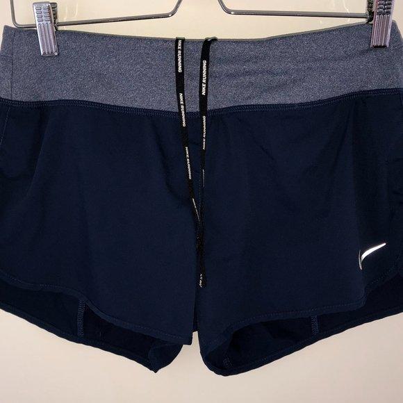 Nike Running Dri-fit running shorts sz M NWOT blue